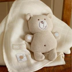 Hug Me Gebreide Bear &...