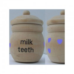 Tooth box wood